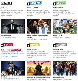 Canal plus gratuit pour les abonnés Free