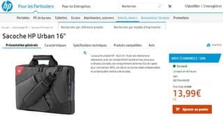 Destockage sacoche HP Urban