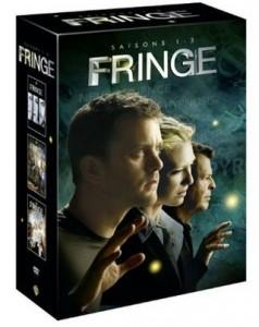 Saison 1 à 3 Fringe à 29,99 euros au lieu de 79 euros