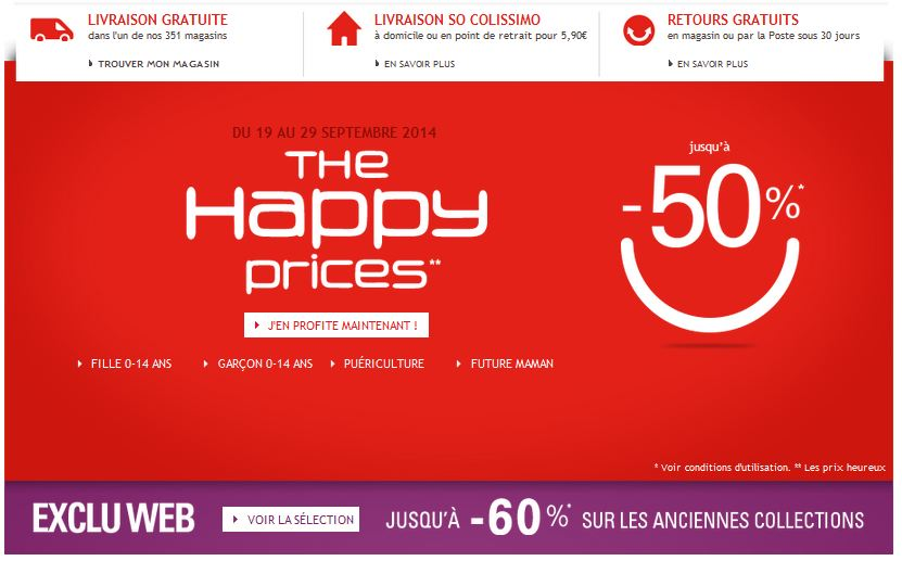 Happy Prices Okaidi Obaibi