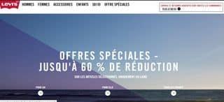 Levi's : livraison gratuite + jusqu'à moins 60%