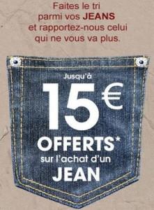 La Halle rachete votre jean
