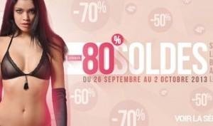 Soldes : lingerie sexy, sex-toys et articles charme