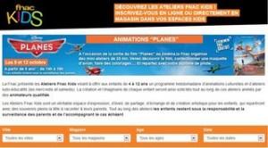 ateliers gratuits FNAC Kids