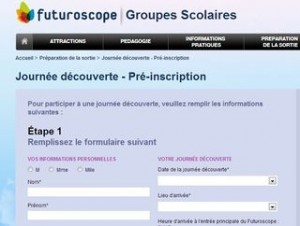 journee gratuite Futuroscope enseignants
