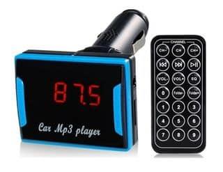 Allume-cigare Transmetteur FM / lecteur MP3 a moins de 4,50 euros