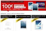 offre FNAC ipad tablette PC