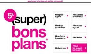 Jennyfer : super bons plans / code promo -20% / livraison gratuite en magasin