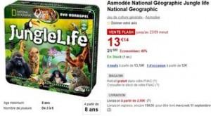 vente flash National Géographic Jungle life Asmodée