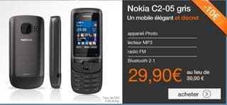 vente flash Nokia C2-05