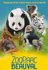 15 euros au lieu de 25 l'entrée au ZooParc de Beauval (12 pour les enfants)