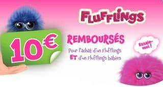 Moins de 35 euros le Fluffings + Fluffings Babies après ODR de 10 euros