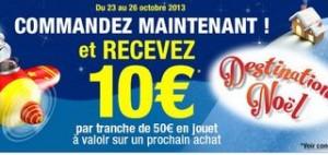Auchan 10 euros pour 50 euros achats