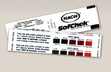 Bandelette test durete eau SofChek gratuite