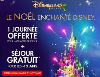 1 journ e gratuite pour 1 s jour disneyland a partir de 84 euros les 2 jours. Black Bedroom Furniture Sets. Home Design Ideas