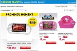Bonnes affaires et Déstockage jouets Auchan