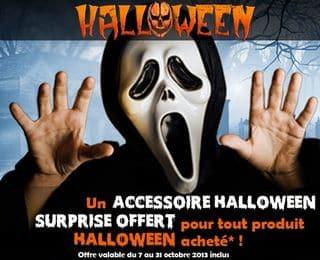 Halloween : 1 cadeau pour tout achat + livraison gratuite