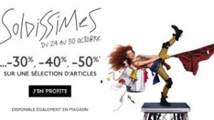 SOLDISSIMES GALERIES LAFAYETTE OCTOBRE 2013