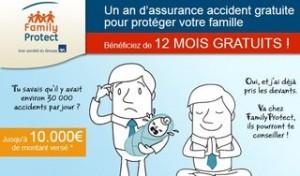 Un an assurance accident gratuite