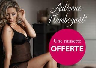 Une nuisette offerte pour 30 euros d'achats Adam et Eve