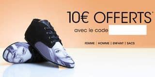 Code promo 10 euros offerts sur  Javari