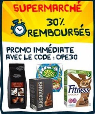 Code promo 30% de réductions immédiates CDiscount supermarchés