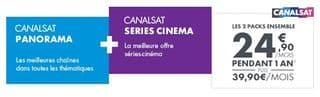 code promo canal sat serie cinema 50 euros