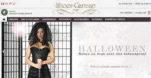 Special Halloween: 10% sur la lingerie et costumes sexy Shoes Cancan