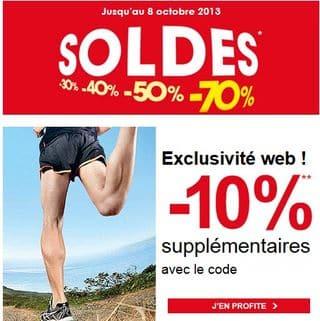 Code promo soldes Go Sport