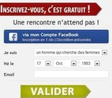 Inscription gratuite Rencontre Hug Avenue