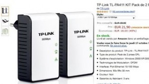 vente flash mini Adaptateurs CPL 500 Mbps TP-Link