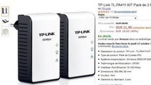 vente flash mini Adaptateurs CPL 500 Mbps TP-Link