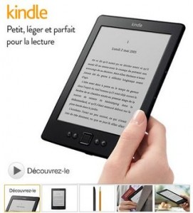 Liseuse Amazon Kindle 6 pouces à 59 euros port inclus