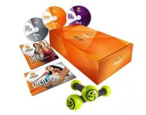 vente flash coffret Zumba Fitness Gold
