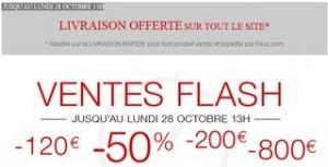 FNAC ! Vente Flash et livraison gratuite sans minimum jusqu'à lundi