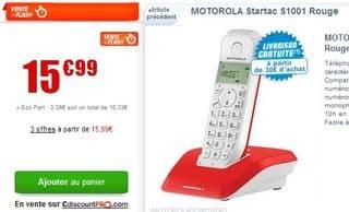 Vente flash t l phone sans fil motorola startac s1001 moins de 16 euros - Vente flash telephone ...