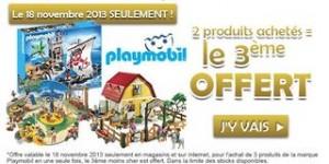 1 Playmobil gratuit pour 2 achetés