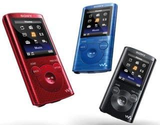 10 euros rembourses lecteur MP3 Sony 8Go E384