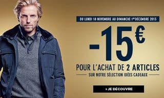 15 euros de reductions BRICE