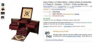 Coffret Ultime Harry Potter pas cher