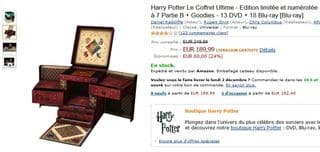 Coffret Ultime Harry Potter pas cher