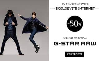 vente flash G-STAR RAW