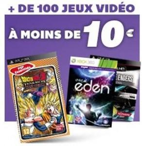 Jeux video a moins de 10 euros