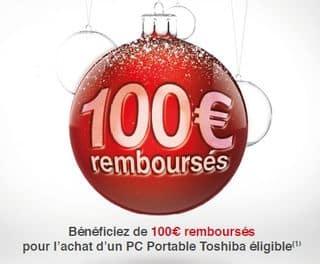 ODR Toshiba pc portable 100 euros
