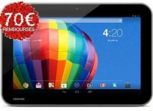 ODR : 70 euros remboursés sur la tablette Toshiba Excite Pure