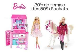 Coupons reductions barbie