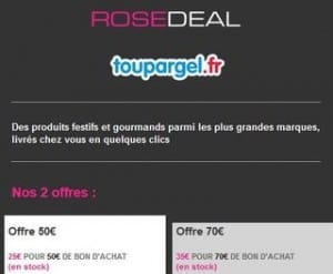bon achat Toupargel - code promo Toupargel