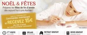 bon plan traiteur Auchan bon achat