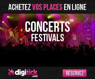 5 euros de réduction immédiate sur les places de concert, sports, loisir, théâtre