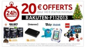 code promo priceminister 20 euros novembre 2013